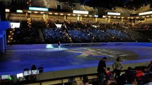 Royal Farms Arena Seating Chart Disney On Ice 60 Correct Royal Farms Seating View