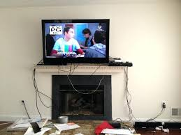mounting tv above gas fireplace interior above gas fireplace pictures too high solutions over images heat