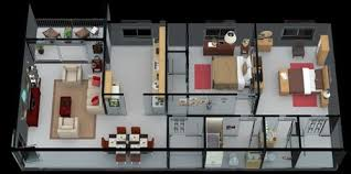 TwoBedroom Apartments  Center For The Study Of World ReligionsApartments Floor Plans 2 Bedrooms
