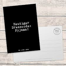 Postkarte Spruch Lustig Witzig Mode Sonntag Faul Couch