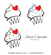 Simple Cupcakes Images Stock Photos Vectors Shutterstock