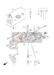 suzuki gs500 e f 2006 spare parts msp wiring harness gs500f fu