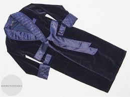 Navy Velvet Men's Dressing Gown Heavy Warm Quilted Silk & Like this item? Adamdwight.com