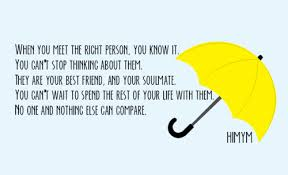 Himym Quotes Beauteous Couple Quotes MY EDIT Himym Umbrella Ted Mosby Cute Quotes Soulmate