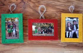 family frame diy ornaments via no 2 pencil