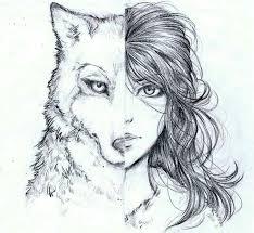 werewolf face drawing. Wonderful Drawing Duality Intended Werewolf Face Drawing W