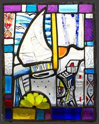 stained glass sculpture image