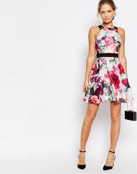 image 4 of ted baker samra floral print dress with buckle straps Wedding Guest Dresses Ted Baker wedding guest outfit ted baker samra floral print dress with buckle straps Wedding Dresses De Charro