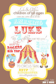 Circus Party Invitation Fascinating Free Circus Birthday Invitation Party Like A Cherry Pinterest