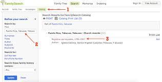 Church Genealogy Genealogy Under Construction Puerto Rico Catholic Church