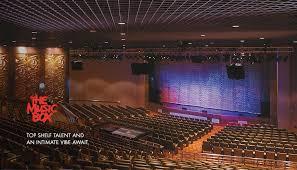Borgata Venue Seating Chart Borgata Music Box An Intimate Venue With Top Notch