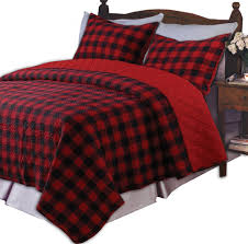 comforter set red plaid bed in a bag black and white checd bedding contemporary comforter sets