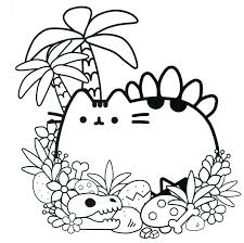 This cute penguin coloring page is a perfect way to free printable rainbow coloring page and activities for kids. Pusheen Coloring Pages Free Printable Coloring Pages For Kids