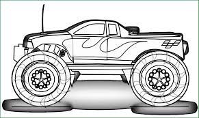 Free Monster Truck Coloring Pages Fabulous Free Printable Monster