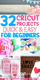 32 easy cricut projects for beginners