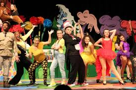 They beat on tom toms, play musical instruments, wave their arms.) Seussical The Musical Was A Hit The Rangeview Raider Review
