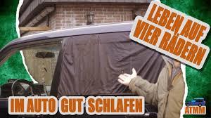 Gut Im Auto Schlafen Isolation Verdunkelung Belüftung Pajero