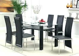 contemporary glass dining room tables stylish table and chairs modern round toronto ro