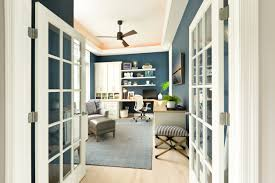 Ideas home office design good Orange Interesting Home Office Desk With Glass Top And Fascinated Springloaded Legs That Look Like Animal Legs Home Stratosphere 51 Really Great Home Office Ideas photos
