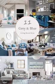 Create a sophisticated space in royal blue and incorporate tan. 11 Most Attractive Grey And Blue Living Room Ideas That You Will Love Jimenezphoto
