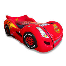 Lightning Mcqueen Bedroom Furniture Kids Beds Wayfair Lightning Twin Car Bed Cubtab