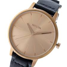 nixon nixon kensington leather kensington leather quartz lady s watch clock pink gold nixon nixon is based in california エンシニータス and is the watch