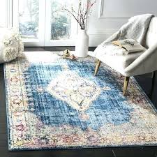 safavieh blue and ivory rug blue and ivory rug bohemian blue ivory polyester area rug light