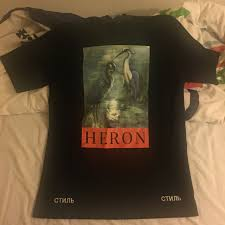 Heron Preston Tee Size Xs But Fits Massive So Could Depop