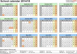 Empty Calendar Template 2015 Printable School Calendars 16 Blank Calendar Template 2014