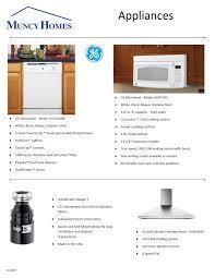 appliances muncy homes