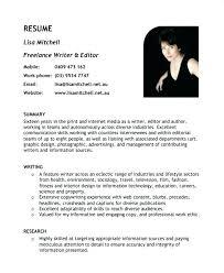 Freelance Writer Resume Objective Best Of Sample Writer Resume Resume Tutorial