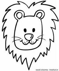 Small Picture Beautiful Ideas Lion Head Coloring Pages Lion Face Coloring Page
