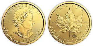 Buy Gold Canadian Maple Leaf Coins Maple Leaf Gold Coins