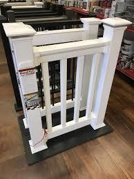 details about full skid of 12 kits 4 rdi finyl line white vinyl deck porch railing
