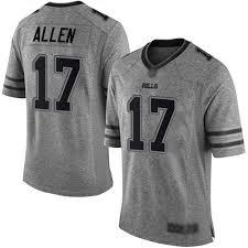 Bills Buffalo Gridiron Nfl Jersey Men's Gray Nike 17 Josh Allen Limited feffdcdcbcdba|Black Leather-based Jackets