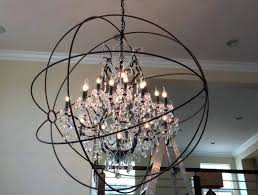 crystal globe chandelier crystal globe chandelier designs metal cage globe and crystal mini chandelier crystal globe chandelier