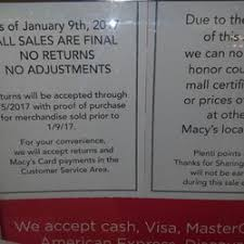 photo of macy s benm pa united states closing clearance