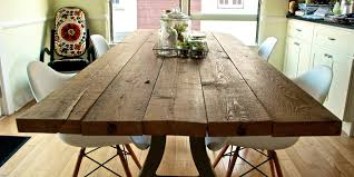 diy reclaimed wood dining table top quick woodworking
