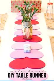 diy table runner valentines table runner diy table runners wedding for round tables