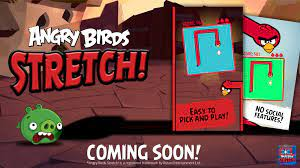 Announcing Angry Birds Stretch!