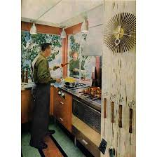 Retro Renovation Kitchen Retro Atomic Wallpaper Wallpapersafari