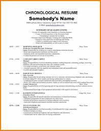 Chronological Words Chronological Resume Template Updated Traditional Docs Format Word