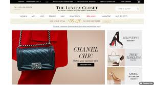 the luxury closet tlc ecommerce pre loved ecommerce second hand luxury