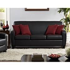 faux leather office chair walmart mainstays. mainstays faux leather sofa, black office chair walmart