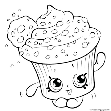 Cupcake Princess Shopkins Coloring Pages Coloring Pages Luxury
