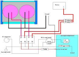 derale relay wiring diagram wiring diagram schematics wiring diagram for dual fans hot rod forum hotrodders bulletin