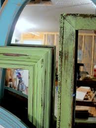 diy painted mirror frame. DIY, Painted Mirrors And Picture Frames, Petticoat Junktion Diy Mirror Frame A