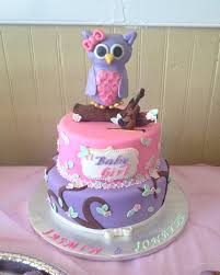 Look WHOOu0027S Blue Boy Owl First Birthday Baby Shower Edible Cake Baby Shower Owl Cake Toppers