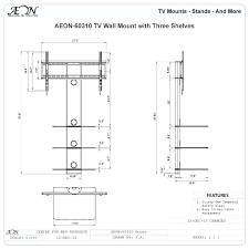 tv height in bedroom ideal