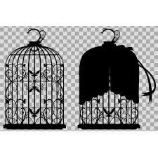 鳥籠な素材シルエット ニコニコモンズ